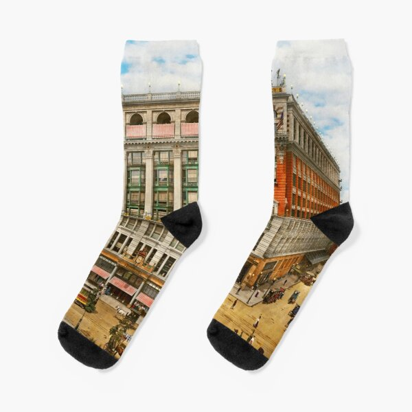 City - NY - Fashion statement 1905 Socks