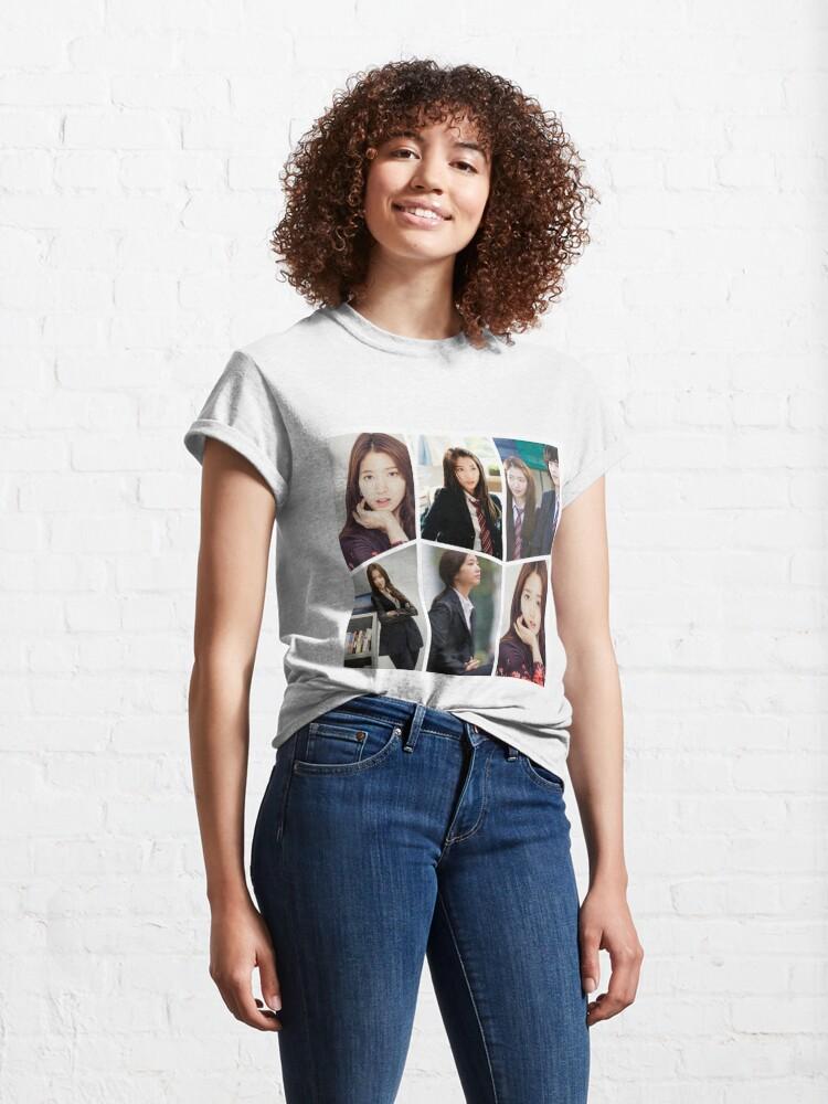 Alternate view of Park Shin Hye Beautiful Collage Classic T-Shirt