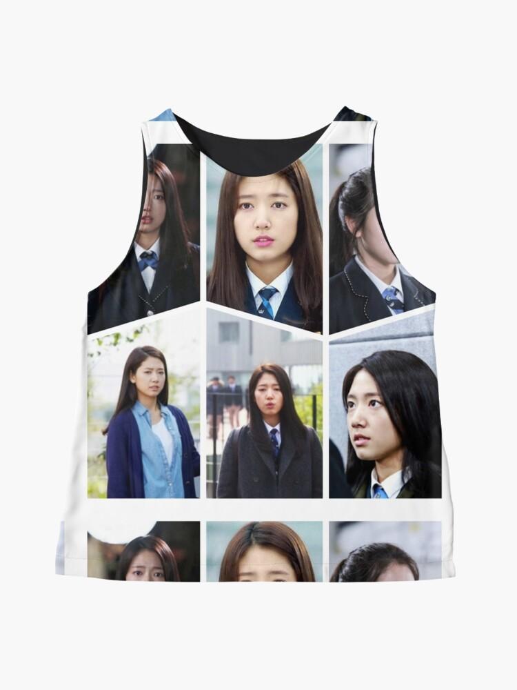 Alternate view of Park Shin Hye Beautiful Collage Sleeveless Top