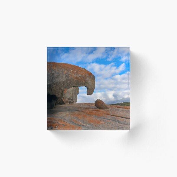 Remarkable Rocks, Kangaroo Island Acrylic Block