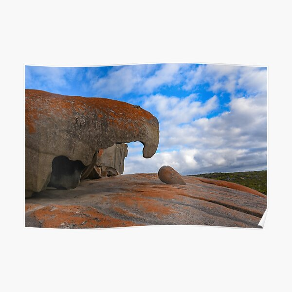 Remarkable Rocks, Kangaroo Island Poster