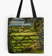 I Love To Walk In the English Countryside Tote Bag