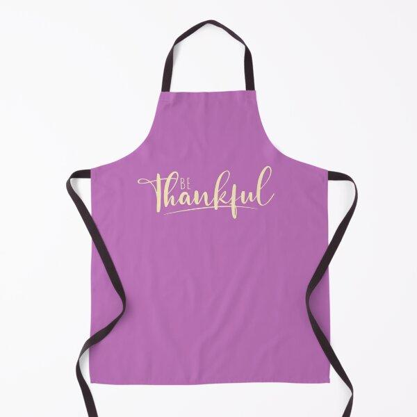 Be Thankful Apron