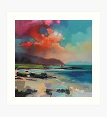 Rum From South Uist Art Print