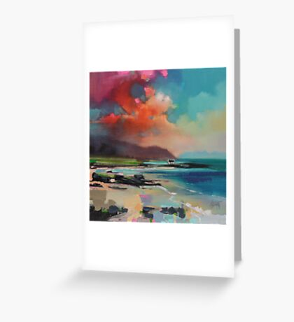 Rum From South Uist Greeting Card