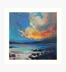 Blustery Sky Art Print
