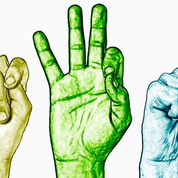 CTFxC in American Sign Language (Colors) by letertels