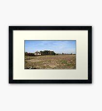 Once Upon a Time in Deer Land Framed Print