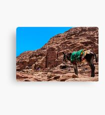 Royal Tomb (Urn Tomb). Canvas Print