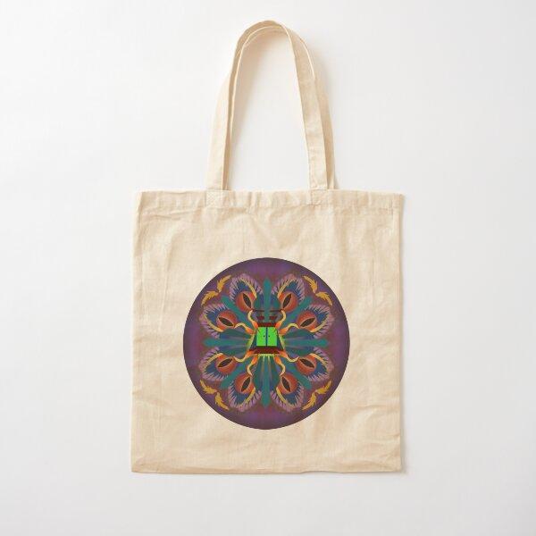 Mandala Art Cotton Tote Bag