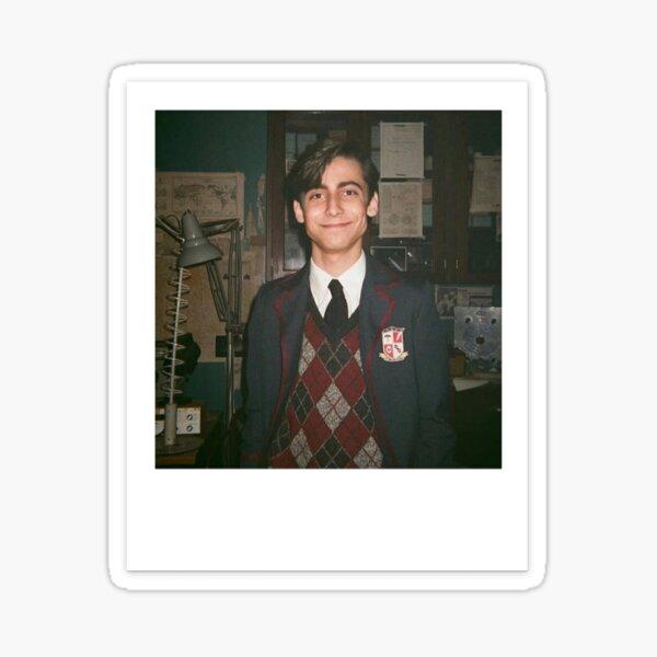 Polaroid de Aidan Gallagher Pegatina