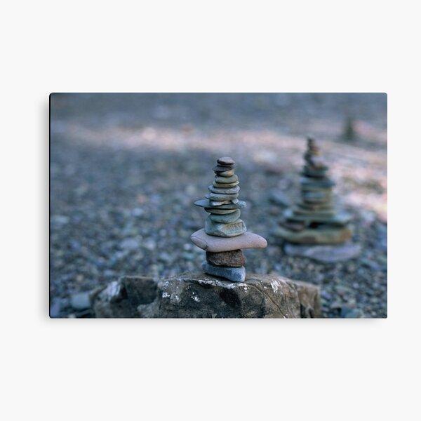 Rock balance Canvas Print