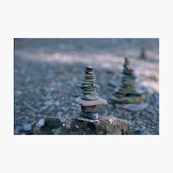 Rock balance Photographic Print