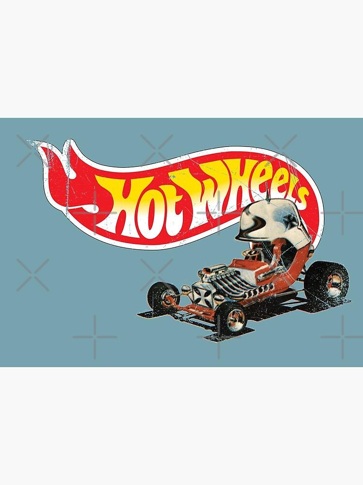 """Vintage Style Hot Wheels """"Roter Baron"""" von OffsetVinylFilm"""