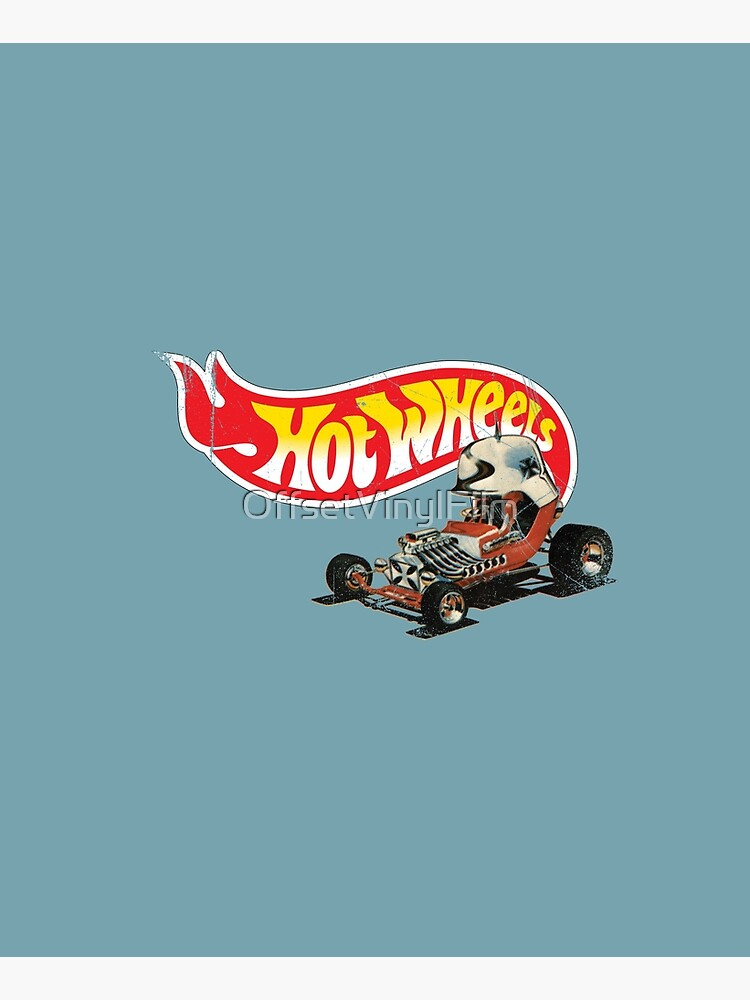 """Vintage Style Hot Wheels """"Red Baron"""" by OffsetVinylFilm"""