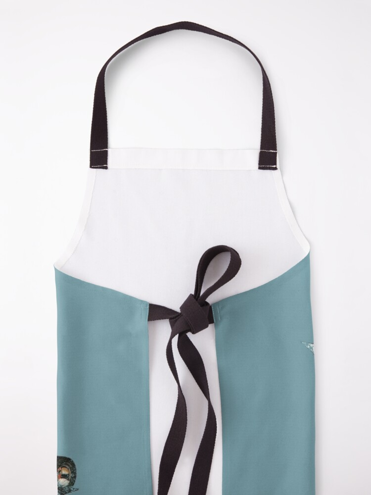 """Alternate view of Vintage Style Hot Wheels """"Red Baron"""" Apron"""