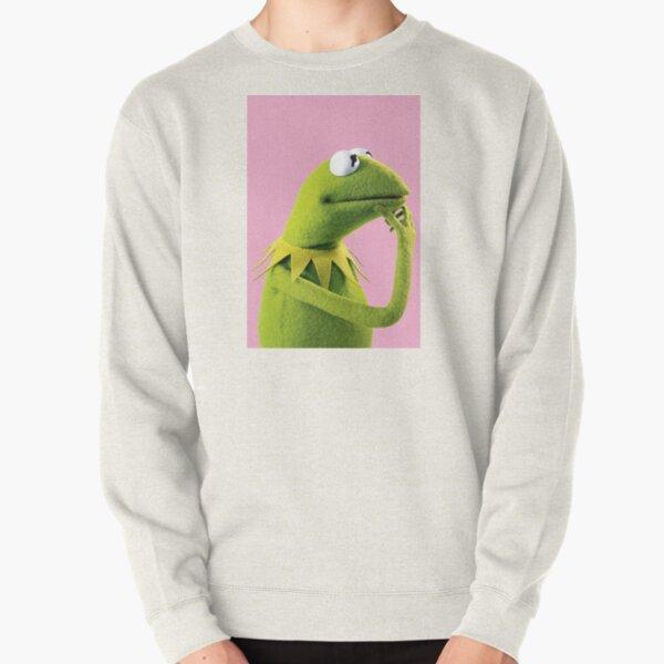 Pondering Kermit Pullover Sweatshirt