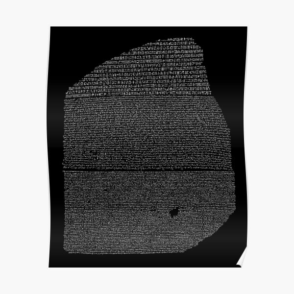 Rosetta Stone Poster