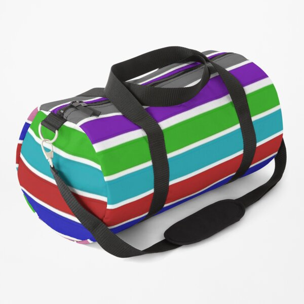 Colorful Stripes Duffle Bag