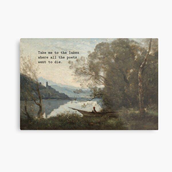 take me to the lakes Metal Print