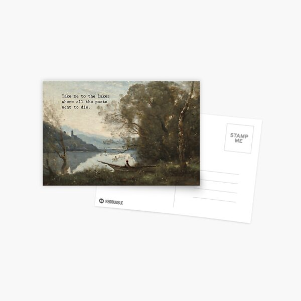 take me to the lakes Postcard
