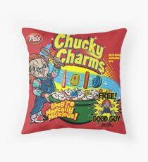 Chucky Charms Throw Pillow