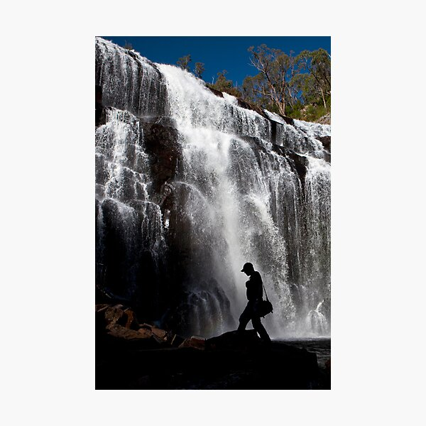 Waterfall wanderer Photographic Print