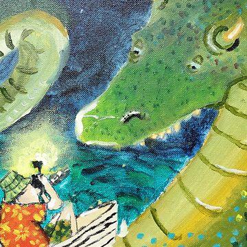 Dragon Spotting by annabelcandy