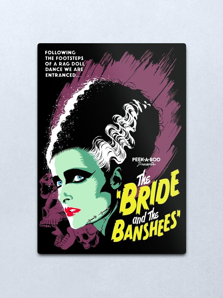 Alternate view of The Bride Metal Print
