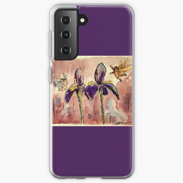 Fairies in the Iris Garden Samsung Galaxy Soft Case