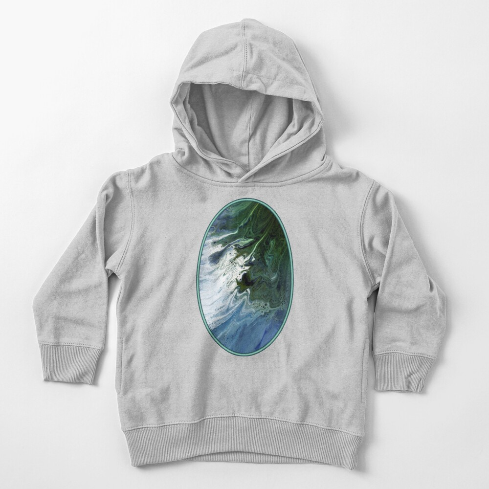 Waves On The Shore Toddler Pullover Hoodie