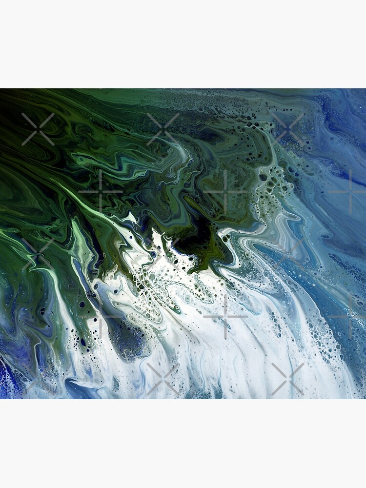 Waves On The Shore by kerravonsen