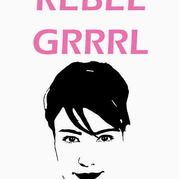 Kathleen Hanna- Rebel Grrrrl by eclecticjustice