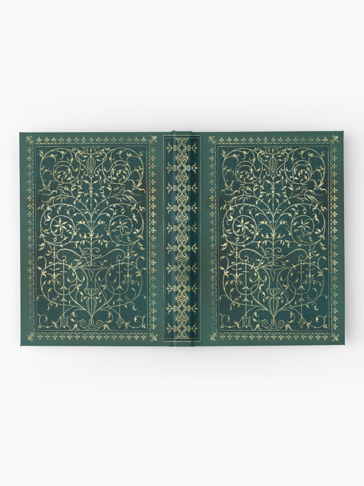 Alternate view of Old magic ornament Hardcover Journal