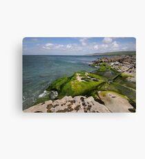 Clare coast Canvas Print