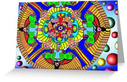 Mind map as a Mandala by David Fraser