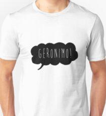 Geronimo! (Black) Unisex T-Shirt