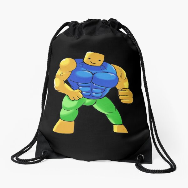 Paco Noob Roblox Drawstring Bag