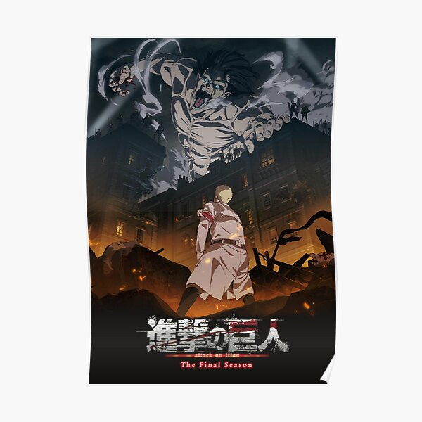 Shingeki No Kyojin Finale Saison Poster