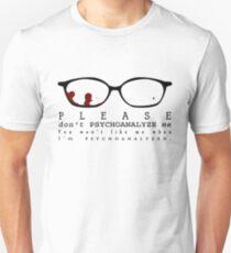 Bloody Psychoanalyze V.2  Unisex T-Shirt