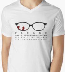 Bloody Psychoanalyze V.2  Men's V-Neck T-Shirt