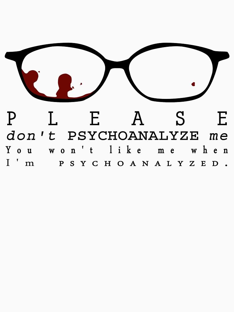 Bloody Psychoanalyze V.2  | Unisex T-Shirt