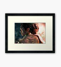Live for Love/Fight for Live Framed Print