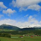 Snow in September in the Austrian Alps. by Lee d'Entremont