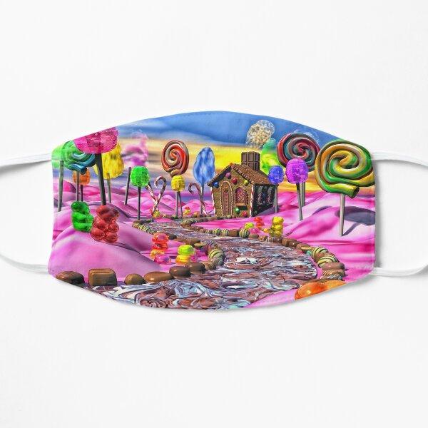 Pink Candyland Flat Mask