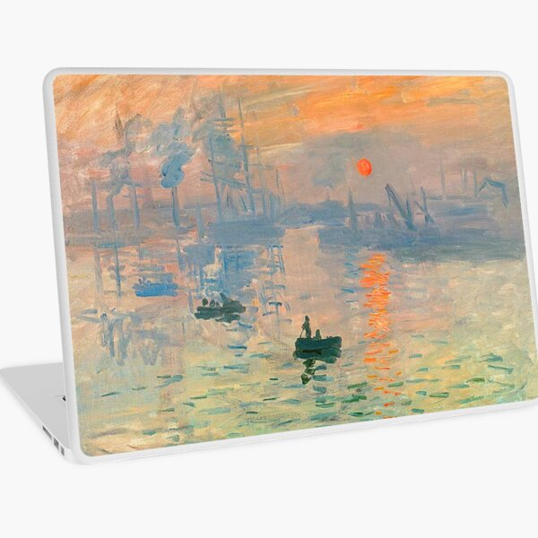 Impression Sunrise - Claude Monet Laptop Skin