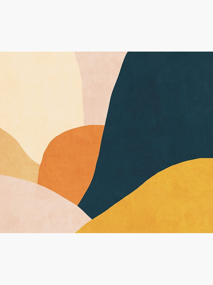 Colorful mid century sunset  by Miss-Belle