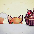 Curious Fox by Katie Corrigan