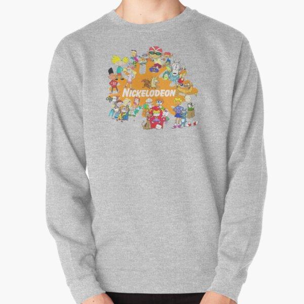 90's Nick Cartoons Pullover Sweatshirt