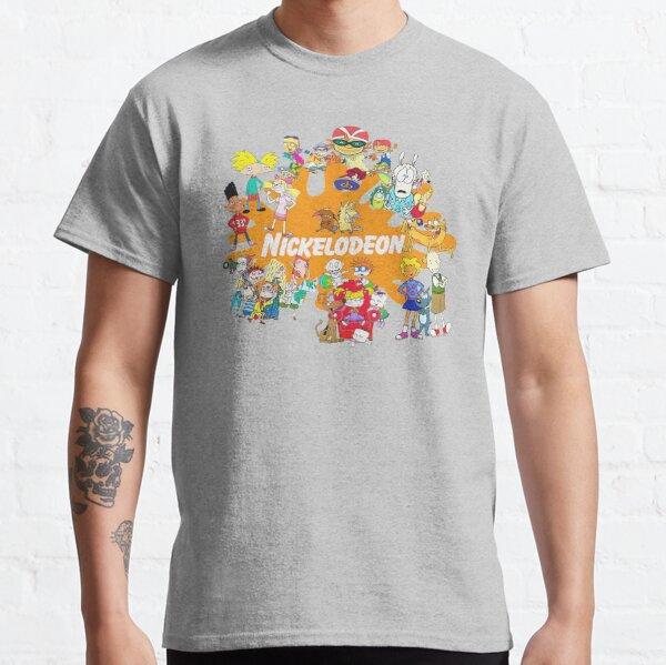 Dibujos animados de Nick de los 90 Camiseta clásica